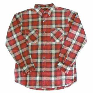 高品質のおすすめネルシャツ!VINTAGE EL FLANNEL WORK SHIRTS/5,980円