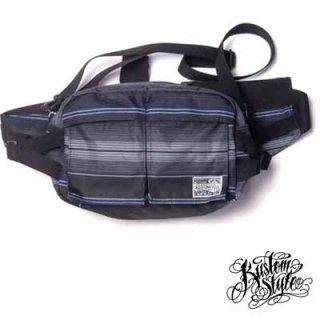 サラペ仕様のクールなウエストバッグ!KUSTOMSTYLE SERAPE WAIST BAG/5,000円