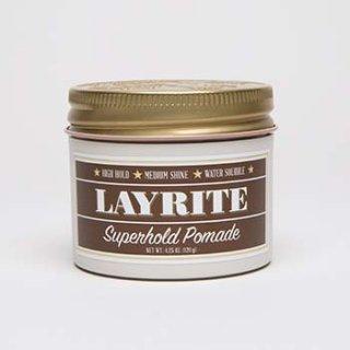LAYRITEポマード入荷です!LAYRITE POMADE SUPER HOLD/2,300円