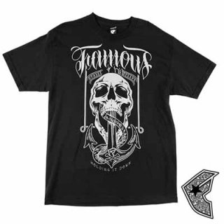 FAMOUS STARS AND STRAPS HOLDING IT DOWN TEE/3,800円