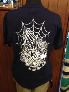DEEPLAID CLOTHING SKULL PRAY TEE ディープレイド/3,800円