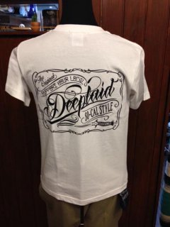 DEEPLAID CLOTHING SCRIPT SIGN TEE ディープレイド/3,800円