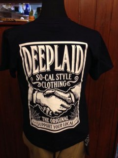 DEEPLAID CLOTHING SHAKE HANDS TEE ディープレイド/3,800円