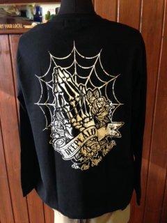 DEEPLAID CLOTHING SKULL PRAY LONG SLEEVE TEE ディープレイド/4,800円