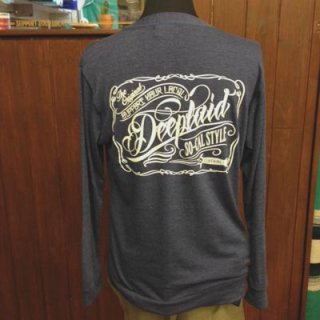 DEEPLAID CLOTHING SCRIPT SIGN CARDIGAN ディープレイド/6,800円