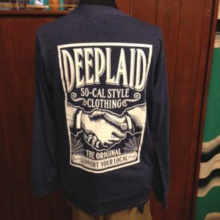 DEEPLAID CLOTHING SHAKE HANDS CARDIGAN ディープレイド/6,800円