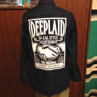 DEEPLAID CLOTHING SHAKE HANDS L/S WORK SHIRTS ディープレイド/7,800円