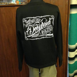 DEEPLAID CLOTHING SCRIPT SIGN CREW NECK SWEAT ディープレイド/5,800円