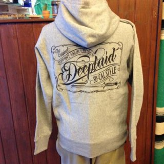 DEEPLAID CLOTHING SCRIPT SIGN ZIP HOOD ディープレイド/8,800円