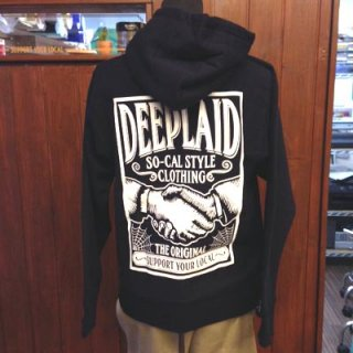 DEEPLAID CLOTHING SHAKE HANDS ZIP HOOD ディープレイド/8,800円