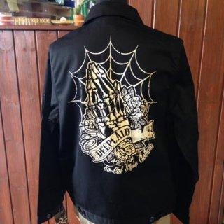 DEEPLAID CLOTHING SKULL PRAY WORK JACKET(裏無し) ディープレイド/12,000円