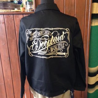 DEEPLAID CLOTHING SCRIPT SIGN WORK JACKET(裏無し) ディープレイド/12,000円