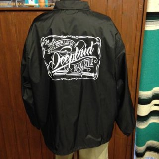 DEEPLAID CLOTHING SCRIPT SIGN NYLON JACKET ディープレイド/8,800円