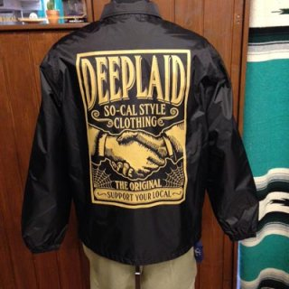 DEEPLAID CLOTHING SHAKE HANDS NYLON JACKET ディープレイド/8,800円
