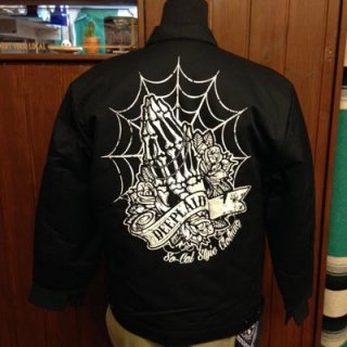 DEEPLAID CLOTHING SKULL PRAY WORK JACKET ディープレイド/12,000円