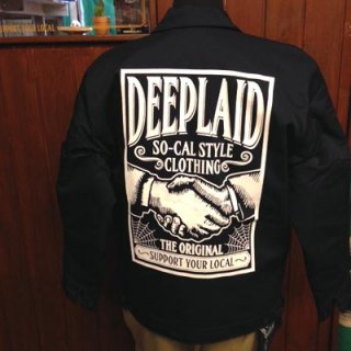DEEPLAID CLOTHING SHAKE HANDS WORK JACKET ディープレイド/12,000円