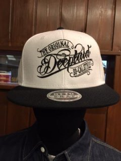 DEEPLAID CLOTHING ORIGINAL SCRIPT CAP ディープレイド/4,000円