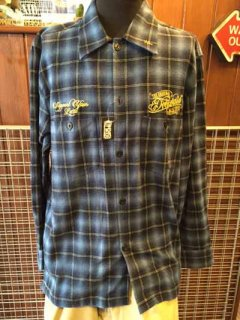 DEEPLAID CLOTHING ORIGINAL SCRIPT L/S CHECK SHIRTS /8,800円