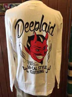 DEEPLAID CLOTHING DEVIL LONG SLEEVE TEE ディープレイド/4,800円
