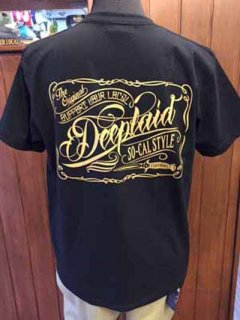 DEEPLAID CLOTHING SCRIPT SIGN POCKET TEE ディープレイド/4,800円