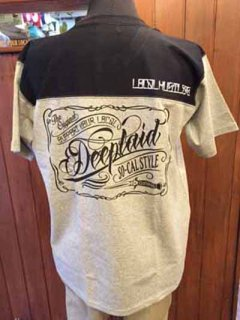 DEEPLAID CLOTHING SCRIPT SIGN FOOTBALL TEE ディープレイド/4,800円