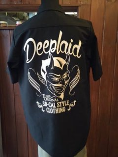 DEEPLAID CLOTHING DEVIL S/S WORK SHIRTS ディープレイド/6,800円