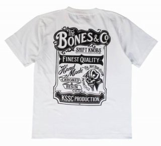 KUSTOMSTYLE BONES&CO TEE/4,980円