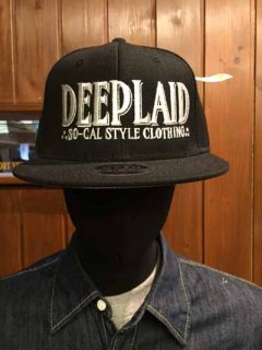 DEEPLAID CLOTHING OLD SCHOOL CAP ディープレイド/4,000円