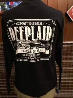 DEEPLAID CLOTHING KUSTOM RIDE LONG SLEEVE TEE ディープレイド/4,800円