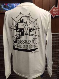 DEEPLAID CLOTHING JESUS CROSS LONG SLEEVE TEE ディープレイド/4,800円