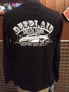 DEEPLAID CLOTHING SPEED SHOP LONG SLEEVE TEE ディープレイド/4,800円