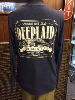 DEEPLAID CLOTHING KUSTOM RIDE CARDIGAN ディープレイド/6,800円