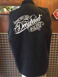 DEEPLAID CLOTHING ORIGINAL SCRIPT DUCK VEST ディープレイド/16,000円