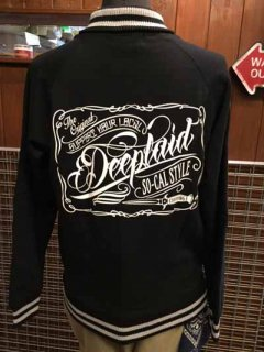 DEEPLAID CLOTHING SCRIPT SIGN SWEAT STADIUM JACKET/9,800円 ディープレイド/9,800円