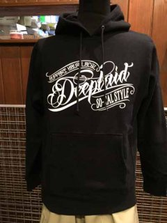 DEEPLAID CLOTHING ORIGINAL SCRIPT PULL OVER HOOD ディープレイド/8,800円