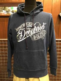 DEEPLAID CLOTHING ORIGINAL SCRIPT DENIM PULL OVER HOOD ディープレイド/9,800円