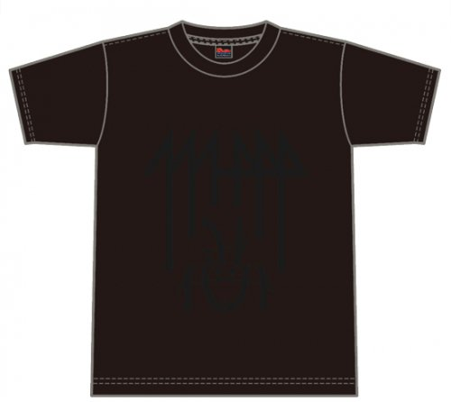 LOGO T-SHIRT BLACK×BLACK