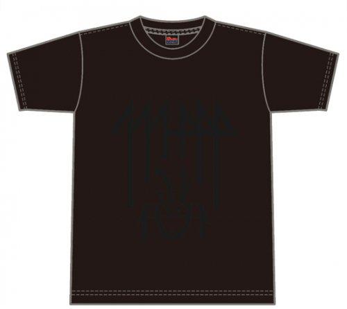 LOGO T-SHIRT BLACK×BLACK