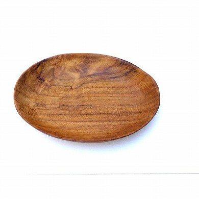 木の皿 楕円中深皿Mサイズ