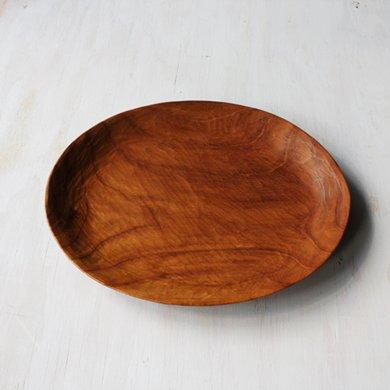 木の皿 楕円中深皿Lサイズ
