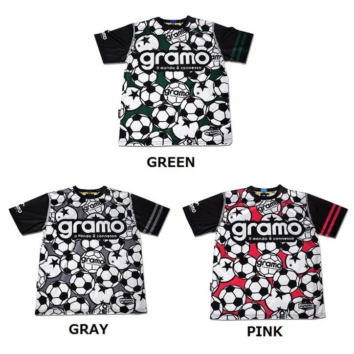 """gramo (グラモ) """"BALLS"""" / プラクティスシャツ ※お届けに3日かかる事があります。"""