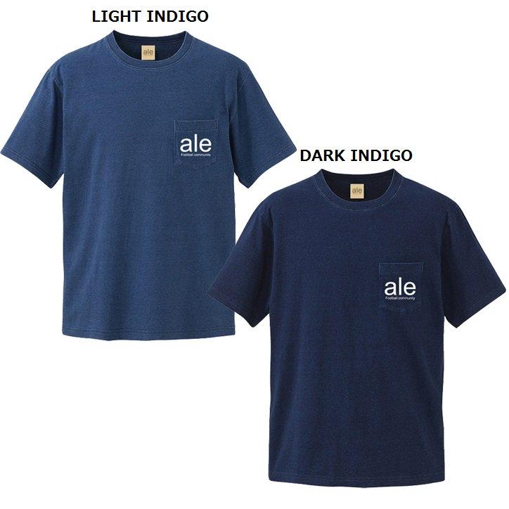 ale(アレ) ポケット付 デニムTシャツ | メール便可能