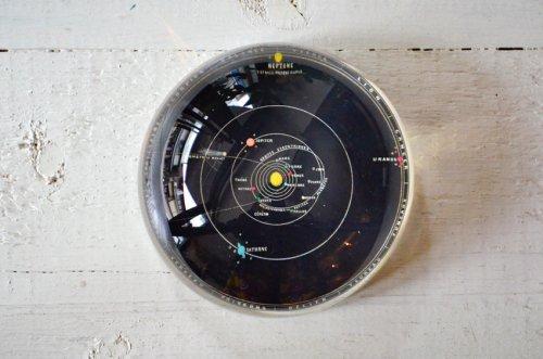 ペーパーウェイトドーム 太陽系