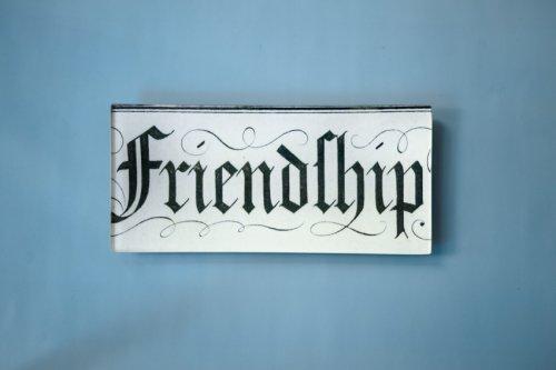 """レクタングルトレイ3.5×7"""" Friendship"""
