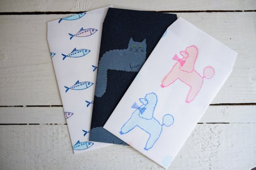 kanaexpress封筒animals
