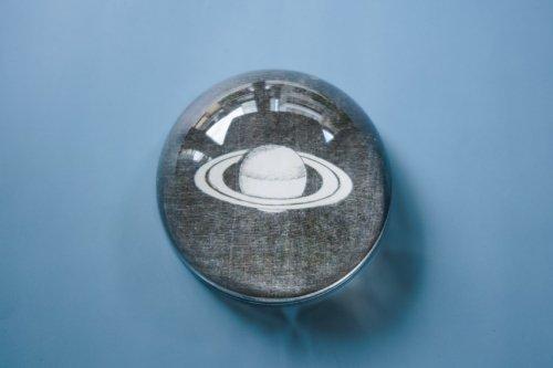 ペーパーウェイトドーム 土星
