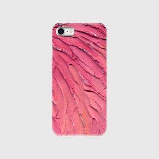 ★スマホケース「ハードケース型」iPhone用(energyart-pink-H)【送料無料】