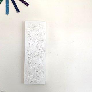 白色のIRONOE レクタングル 20×60×3.5センチ