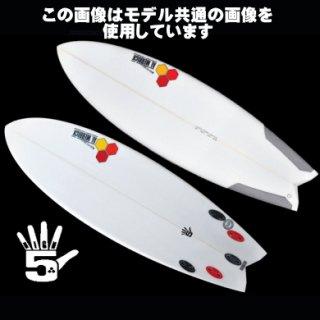 High5 5'8 新品 カリフォルニア FCS II
