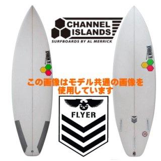 NEW FLYER 5'6 新品 Black/White Hex Clear FCS II
